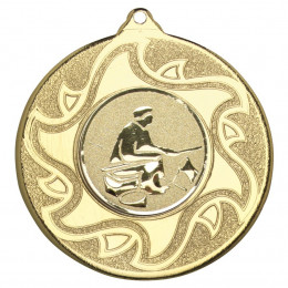 50mm Fishing Medal