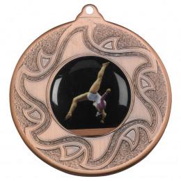 50mm Gymnastic Bronze Medal