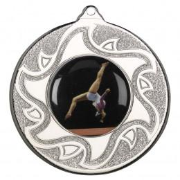 50mm Gymnastic Silver Medal