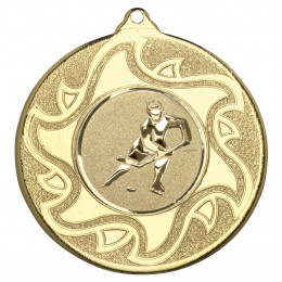 50mm Ice Hockey Medal