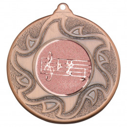 50mm Music Bronze Medal