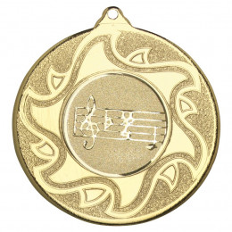 50mm Music Medal