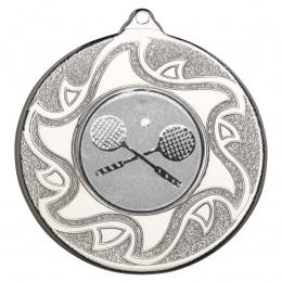 50mm Squash Silver Medal