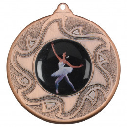 50mm Ballet Dancing Bronze Medal