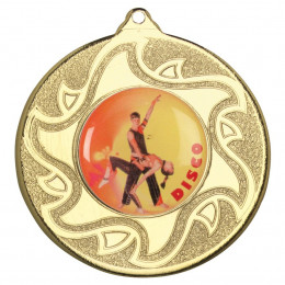 50mm Disco Dancing Medal
