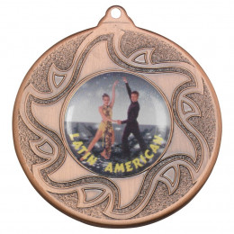 50mm Latino Dancing Bronze Medal