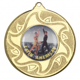 50mm Latino Dancing Medal