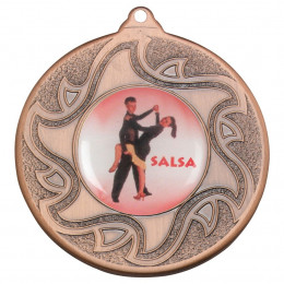 50mm Salsa Dancing Bronze Medal
