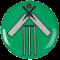 Cricket Bat and Wicket centre - Acrylic