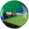 Snooker Player centre - Acrylic