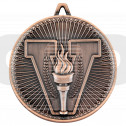 Victory Torch Deluxe Medal - Bronze