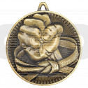 Martial Arts Deluxe Medal - Antique Gold
