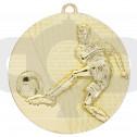Gold Football Medal
