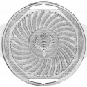 Silver Swirl Medal