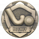 Hockey Mini Shield Medal