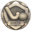 Hockey Mini Shield Medal