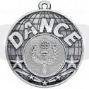 Silver Dance Medal