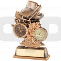 Swimming Leaf Plaque Trophy