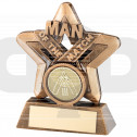 Man Of The Match Mini Star Trophy