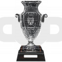 Large Cut Crystal Urn with Engraving Panel