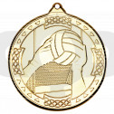 50mm Gaelic Football Celtic Medal
