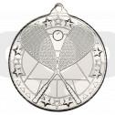 Squash 'Tri Star' Medal - Silver