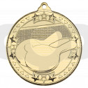 Table Tennis 'Tri Star' Medal - Gold