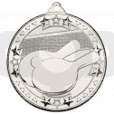 Table Tennis 'Tri Star' Medal - Silver