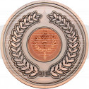 Wreath Medallion Bronze