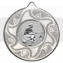 50mm Fishing Silver Medal