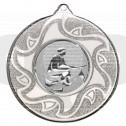 50mm Fishing Silver Medal