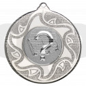 50mm Quiz Silver Medal