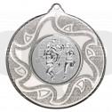 50mm Triathlon Silver Medal