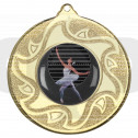 50mm Ballet Dancing Medal
